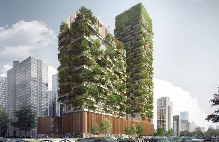 Immeuble du futur