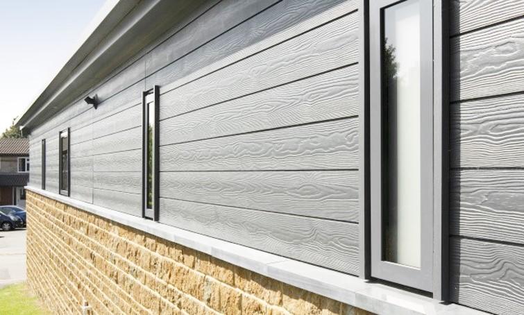 Protection des murs avec bardage ventilé